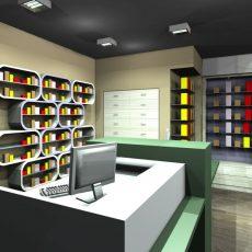 Συρταριέρα Φαρμακείου