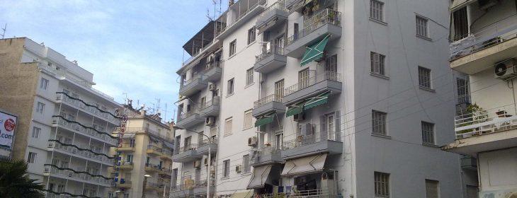 Βάψιμο Όψεων Κτιρίου