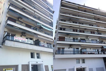 ΟΨΗΣ 700x466 - Ανάπλαση-αποκατάσταση όψης οικοδομής στην οδό Μαρία Κάλλας