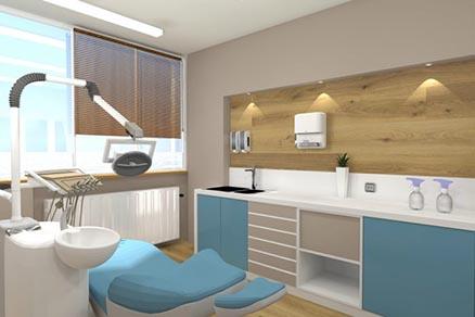 Οδοντιατρείου 700x466 - Design of Dental Office in Thessaloniki